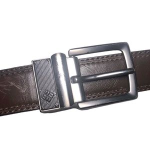 Columbia Faux Leather Belt
